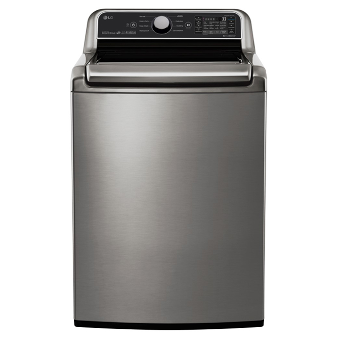 Top-Load Washer with TurboWash(R) - 5.8 cu. ft. - SS