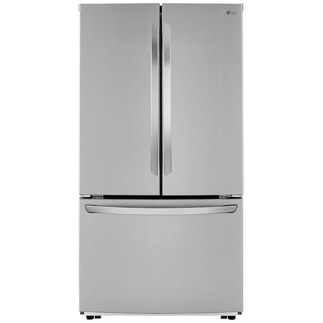 "French-Door Refrigerator - 36"" - 22.8 cu. ft. - SS"