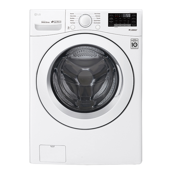Front-Load Washer with Wi-Fi - 5.2 cu. ft. - White