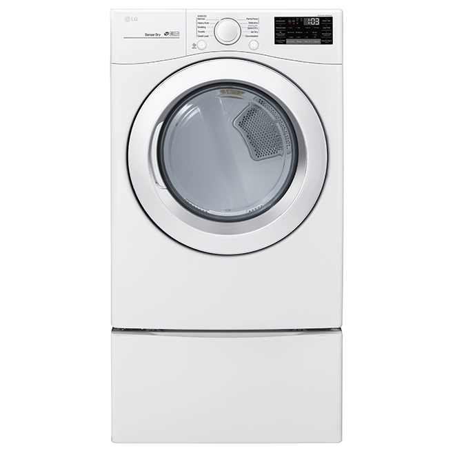 "Electric Dryer with Sensor Dry - 27"" - 7.4 cu. ft. - White"