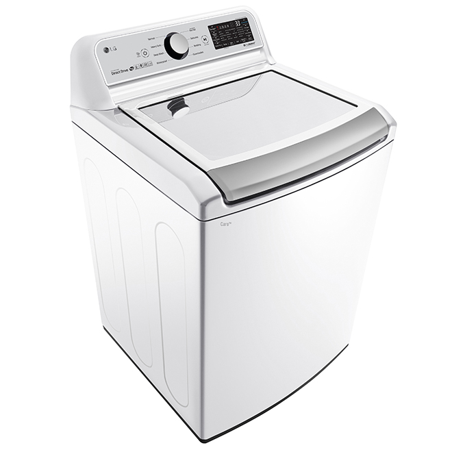 Top-Load Washer with TurboWash(R) - 5.8 cu. ft. - White