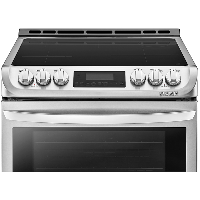 Cuisinière à induction LG avec ProBake(MC), 6,3 pi³, inox