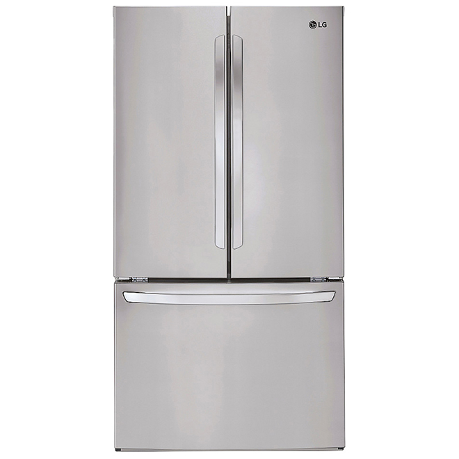 "LG French-Door Refrigerator - 36"" - 29.0 cu. ft. - SS"