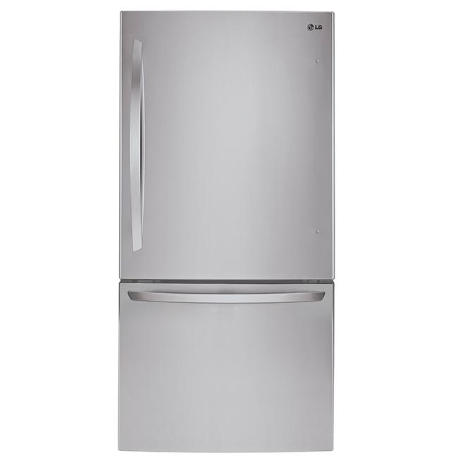 """Bottom-Freezer Refrigerator - 33"""" - 24.1 cu. ft. - SS"""