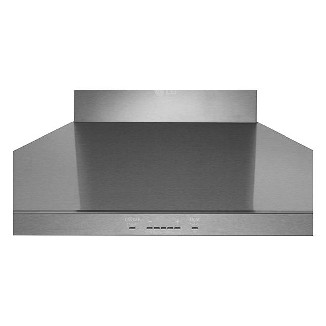 "LG Studio Wall Mount Chimney Hood - 30"" - 600 CFM - SS"