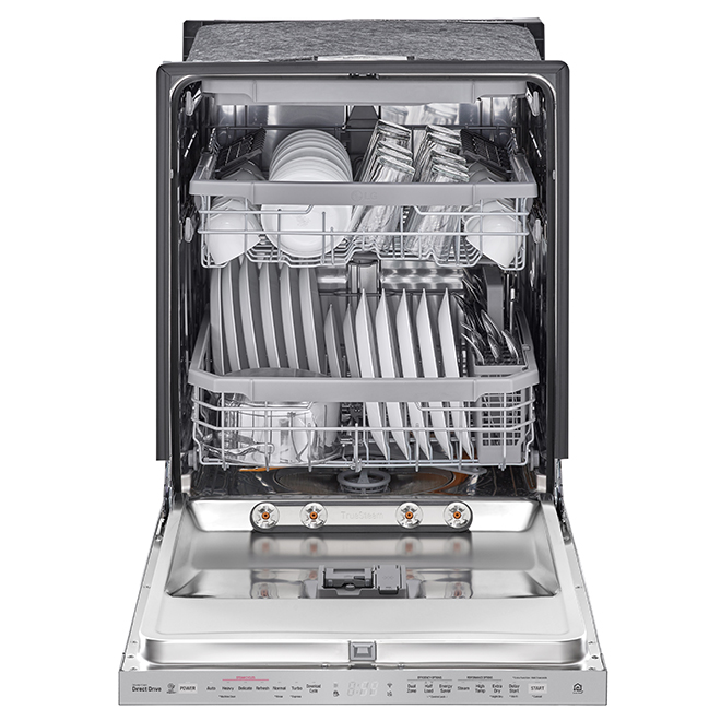 "LG Built-In Dishwasher with TrueSteam(R) - 24"" - SS"