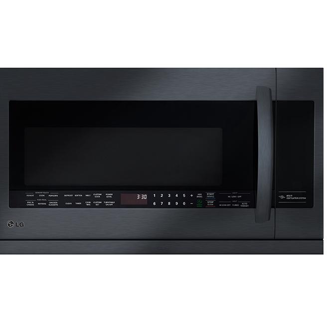 Four à micro-ondes avec hotte ExtendaVent(MC), 2,2 pi³, noir