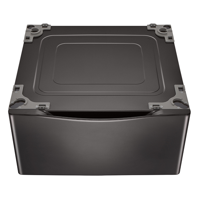 "LG Washer Pedestal - 27"" - Black Steel"