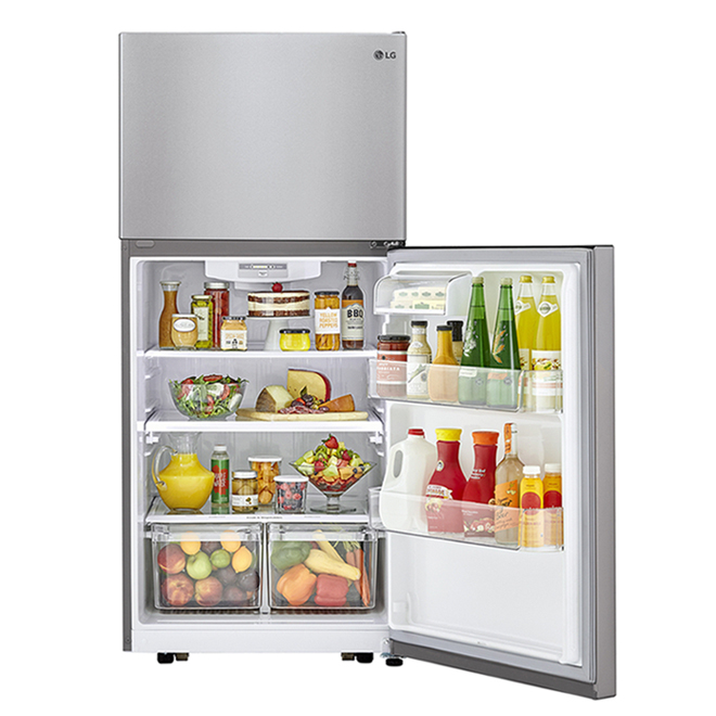 Lg Top Freezer Refrigerator 30 20 Cu Ft Stainless Ltcs20020s Rona