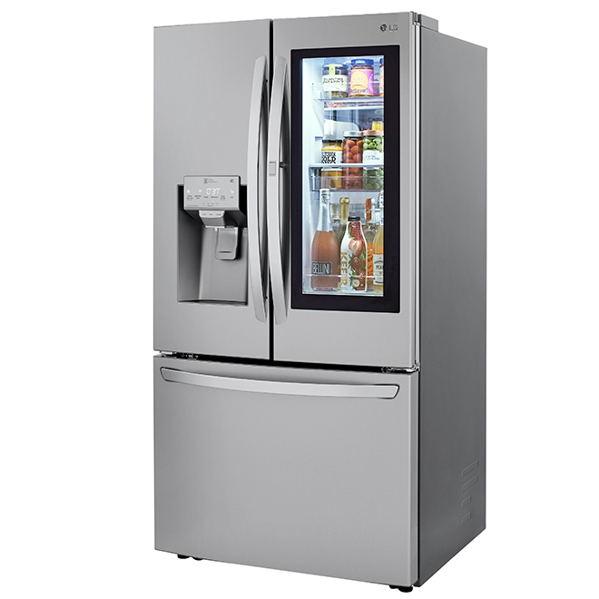 "LG French-Door Refrigerator - 36"" - 29.7 cu. ft. - Stainless"