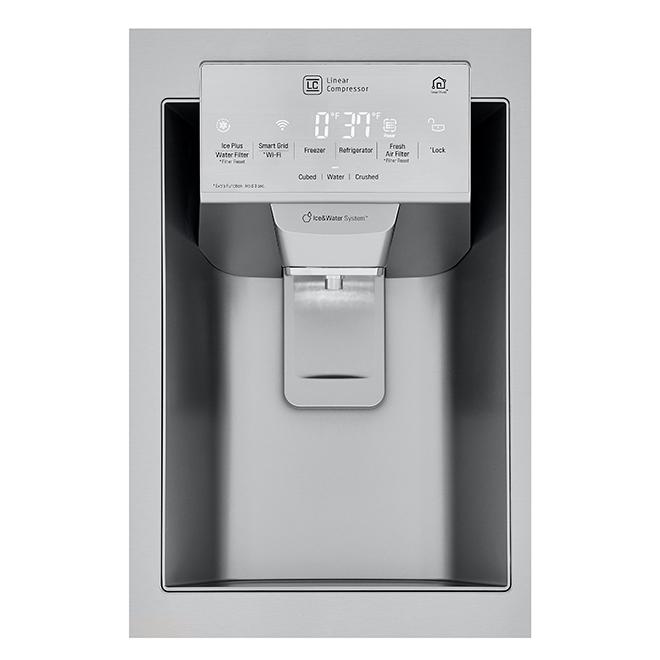 """Réfrigérateur avec SmartThinQ(MD), 36"""", 22 pi³, acier inox"""