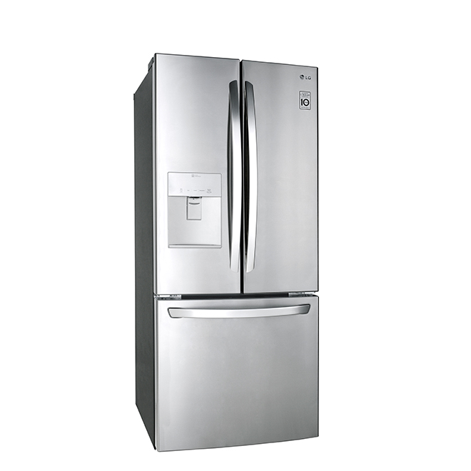 LG Refrigerator with Water Dispenser - 21.8 cu. ft. - Stainless