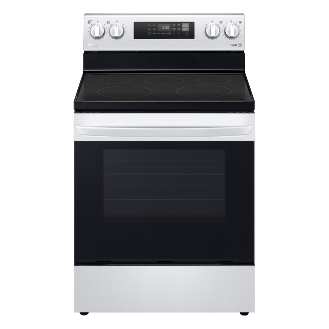 LG Electric Range with EasyClean - 6.3 cu. ft. - 30-in - Stainless Steel