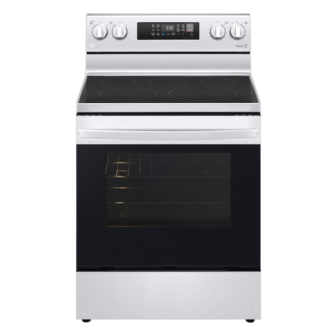 LG Convection Range with EasyClean - 6.3 cu. ft. - 30-in - Stainless Steel