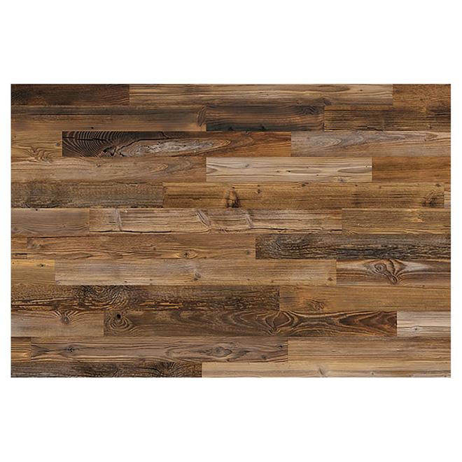 grange design panneau mural v ritable bois de grange 2 10 brun 97676 rona. Black Bedroom Furniture Sets. Home Design Ideas