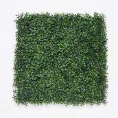Artificial Boxwood Panel - 40'' x 40'' - 11.2 sq. ft. - Green