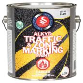 Traffic and Zone Marking Paint - Blue