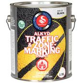 Alkyd Traffic and Zone Marking Paint - Black