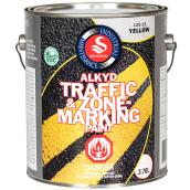 Traffic and Zone Marking Paint - Yellow