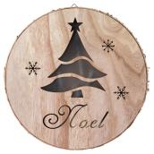 Christmas Wall Decoration - Wood and PVC - 11.81