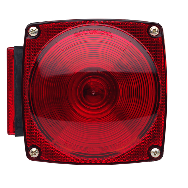 Left Tail Light - Red