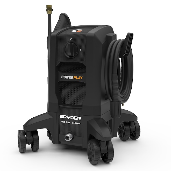 Powerplay Electric Pressure Washer - 1900 psi - 1.4 gpm