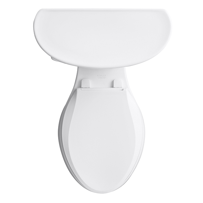 Cavata Elongated-Front 2-Piece Toilet - White