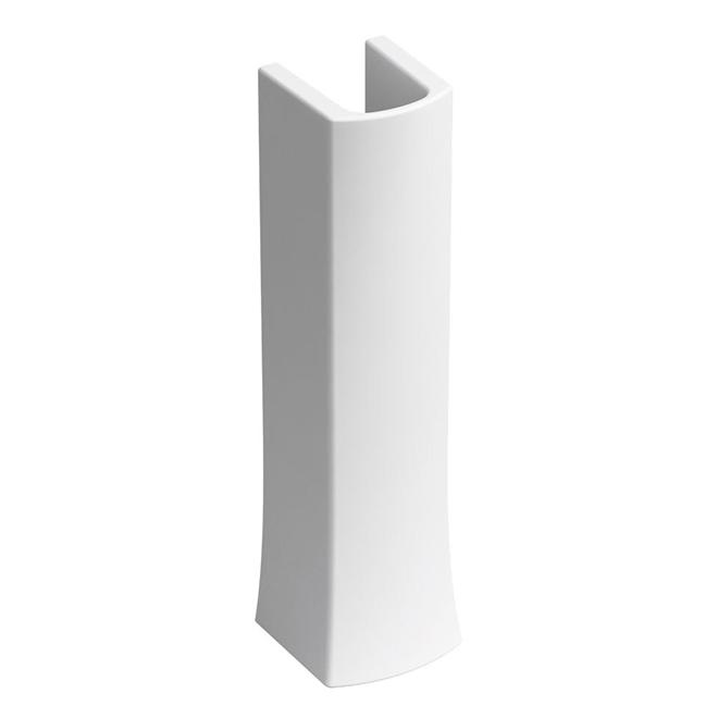Pied de lavabo Elliston, porcelaine, blanc
