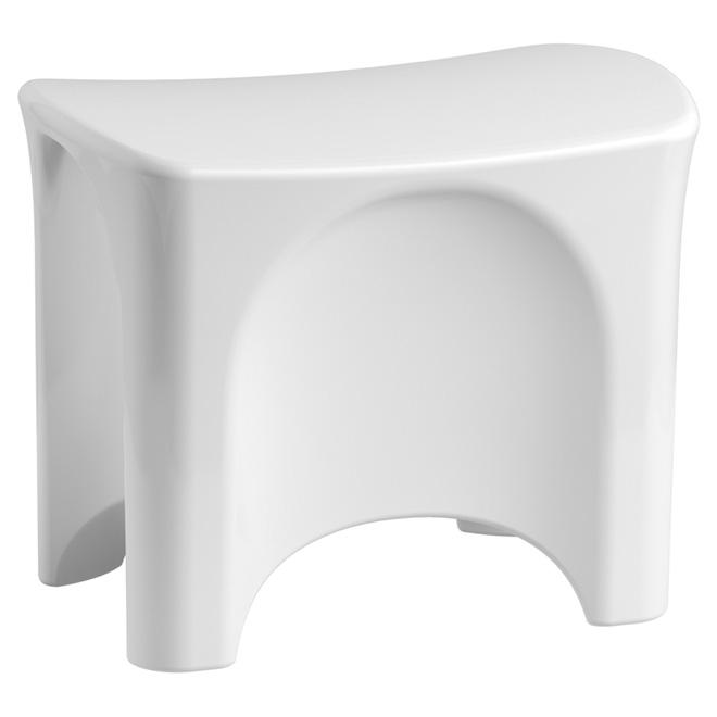 Composite Shower Seat - White
