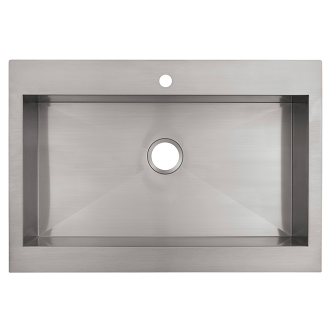 Kohler Vault Top Mount Kitchen Sink Stainless Steel