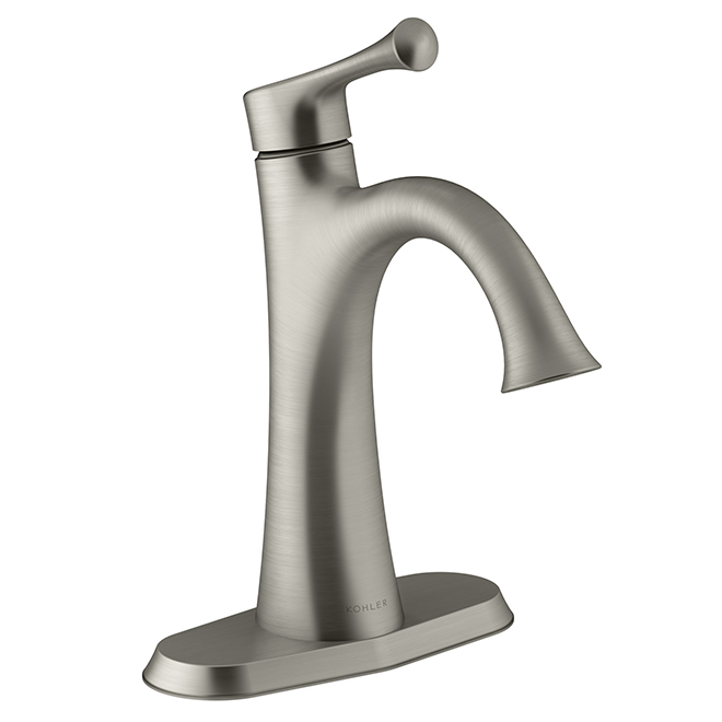 Magnificent Lilyfield Bathroom Faucet 1 Handle Brushed Nickel Download Free Architecture Designs Scobabritishbridgeorg