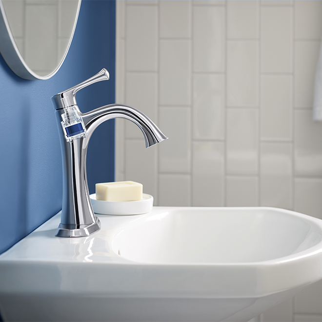 Lilyfield Bathroom Faucet - 1 Handle - Polished Chrome