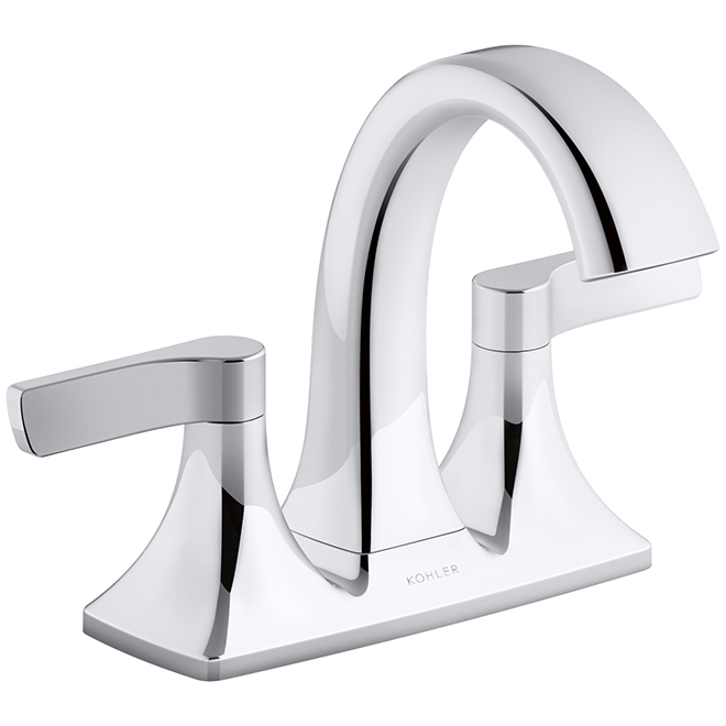 Maxton bathroom faucet 2 handles polished chrome rona How to tighten a kohler bathroom faucet