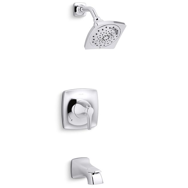 Maxton Tub and Shower Set - 1 Handle - Polished Chrome