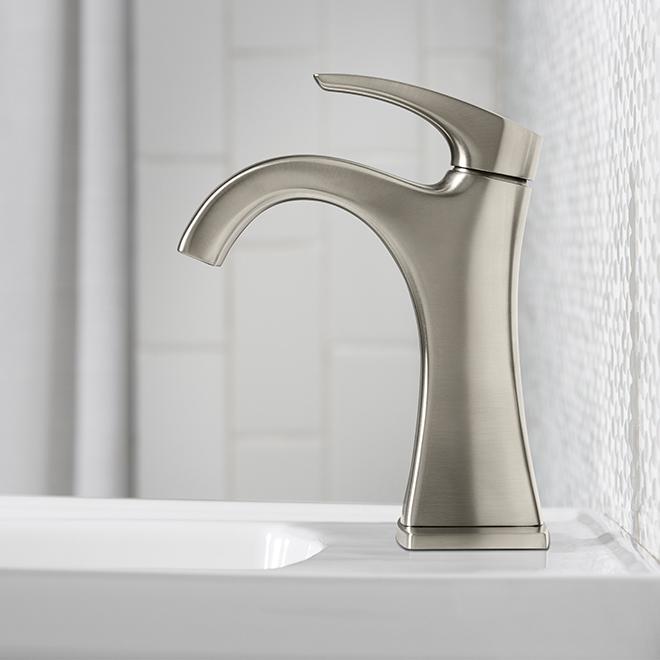 Maxton Bathroom Faucet - 1 Handle - Brushed Nickel