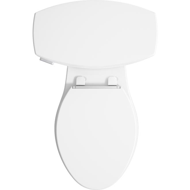 Toilette 2-pièces Kohler allongée, Elliston, 4,8 l, blanc