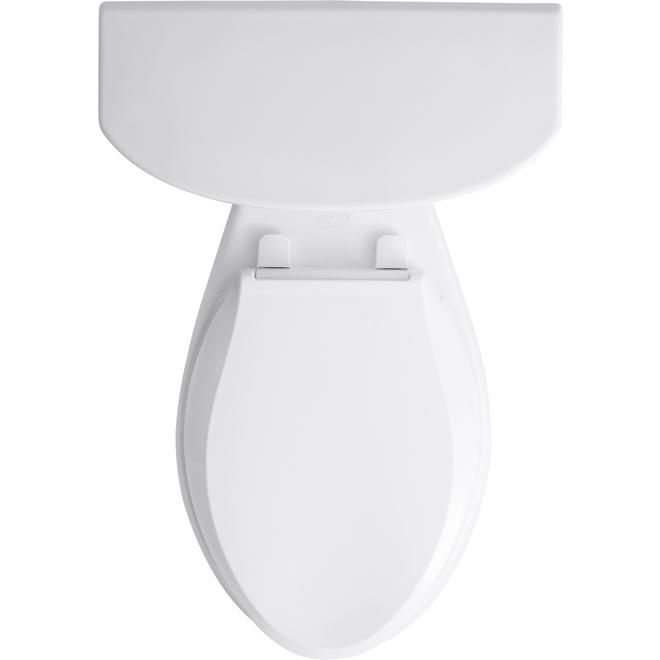 Toilette 2 pièces allongée Cimarron de Kohler, 4,8 L, blanche