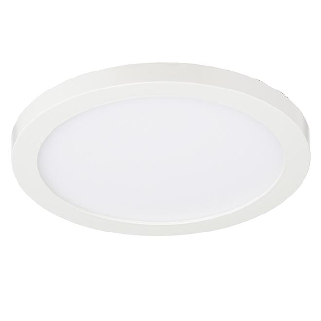 """Luminaire encastrable à montage en surface SMD6, 6"""", blanc"""