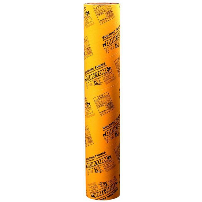Form Tube - Ridged Fibre - 6'' x 8'