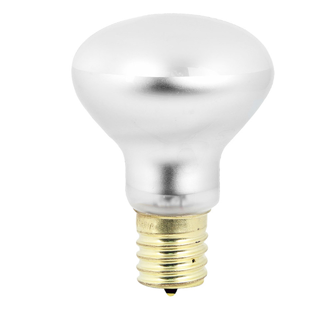 Ampoule incandescente R14 40 W, variable, blanc doux