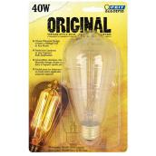 Vintage Bulb A21 E26 - Dimmable - Soft White