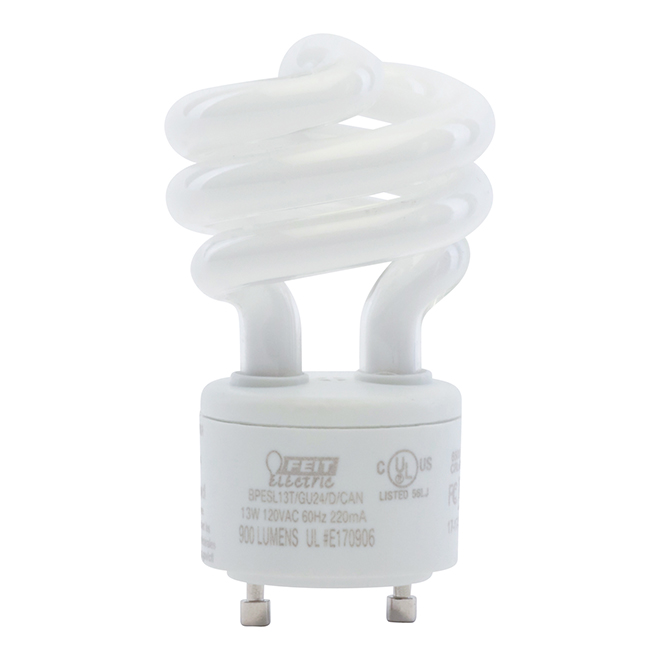 Compact Fluorescent Bulb GU24 - Non Dimmable - Daylight