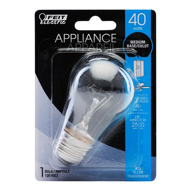 Ampoule A15 E26, intensité variable, blanc brillant