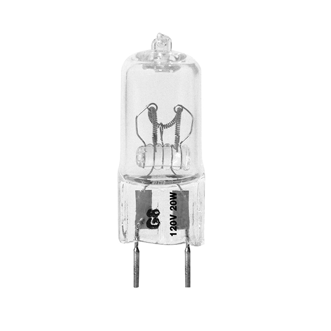 Halogen Bulb T4 20 W - Dimmable - Bright White - 3PK