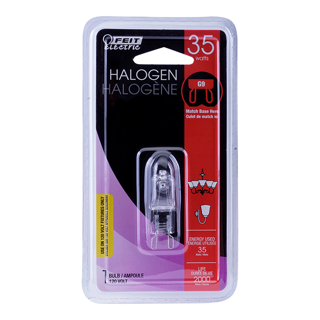 Halogen Bulb T4 35 W - Dimmable - Bright White