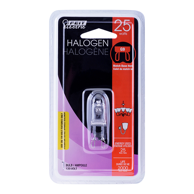 Halogen Bulb T4 25 W - Dimmable - Bright White