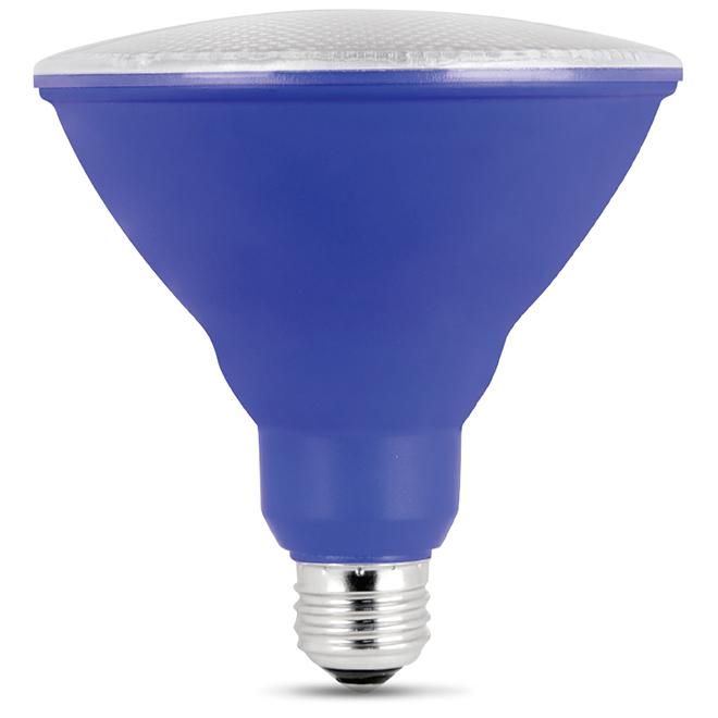 Réflecteur PAR38 E26, 7 W, bleu
