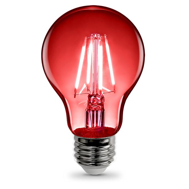 Ampoule DEL A19, 3,6W, rouge