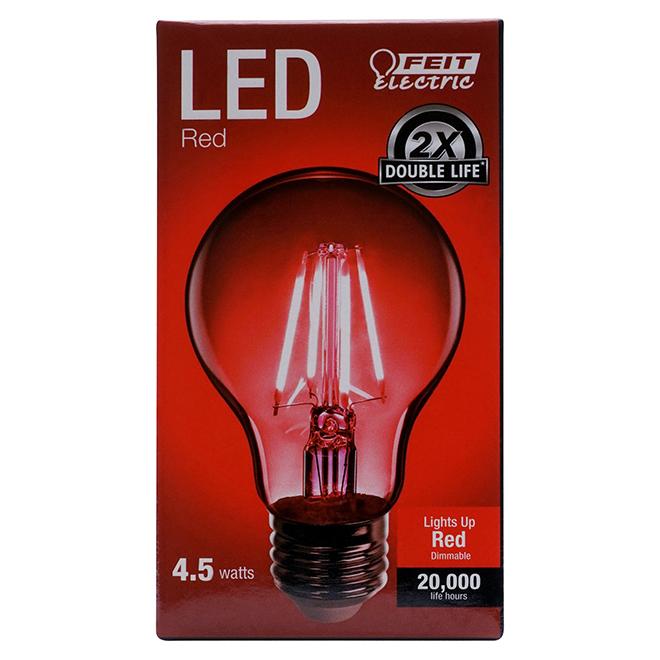LED Bulb A19 - 3.6W - Red