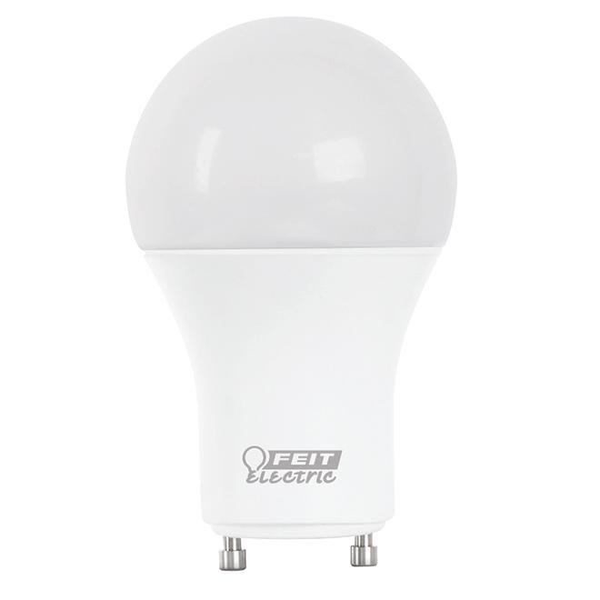 LED Bulb - A19 - GU24 - 60 W - Plastic - Day Light - 2/pack